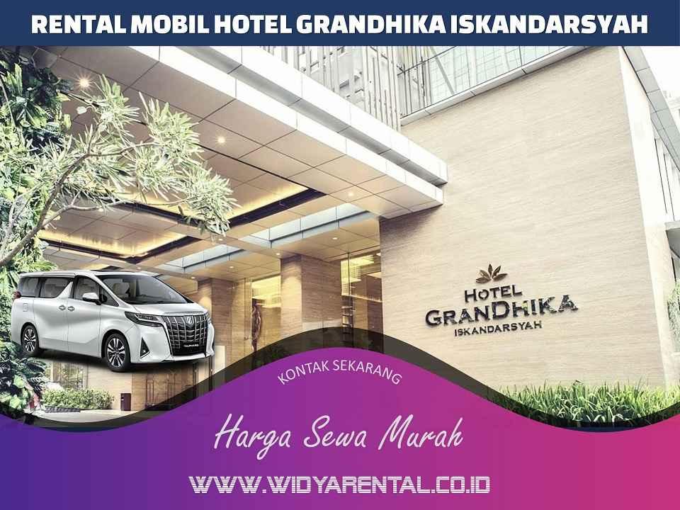 Rental Mobil dekat Hotel GranDhika Iskandarsyah