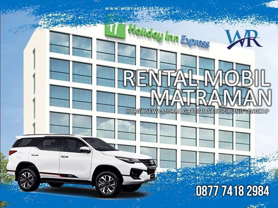 Rental Mobil Dekat Hotel Holiday Inn Express Jakarta Matraman