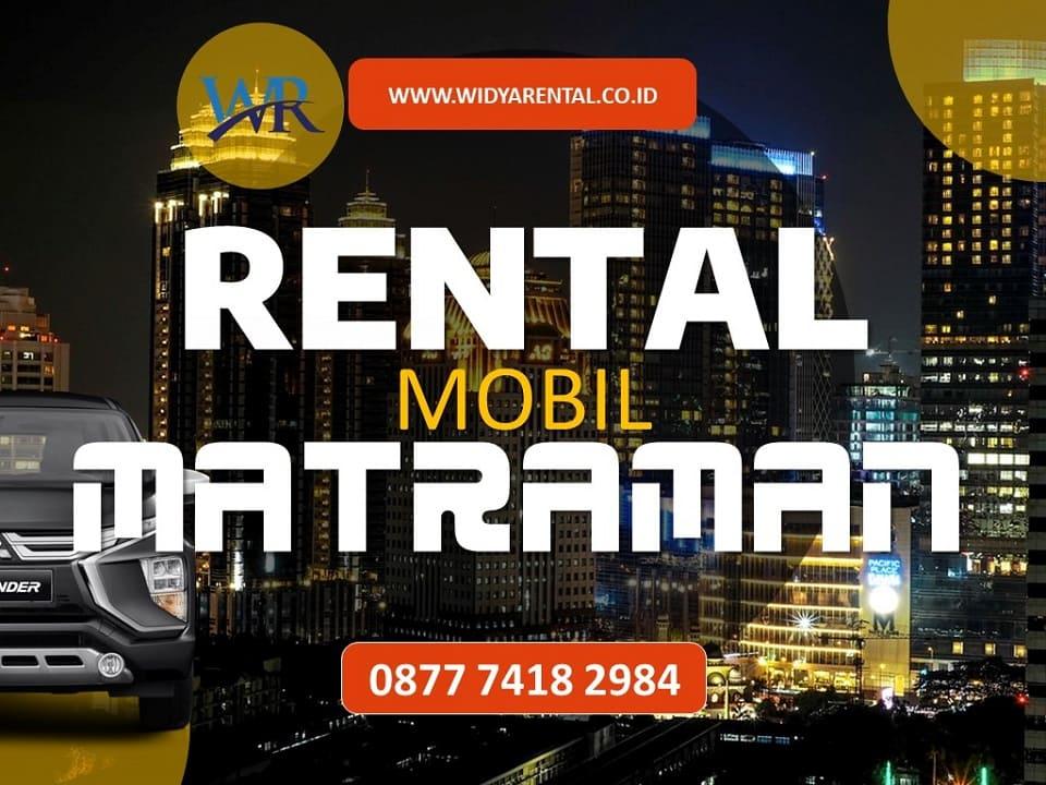 Rental Mobil di Matraman
